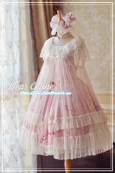 DearCeline -The Little Mermaid- Out Layer Dress