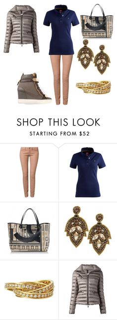 """Untitled #24141"" by edasn12 ❤ liked on Polyvore featuring Dante°6, Joules, Chanel, Deepa Gurnani, Moncler and Giuseppe Zanotti"