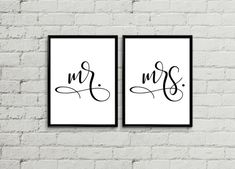 Mr and mrs sign, mr and mrs wall decor, mr and mrs sign for sweetheart table, mr and mrs table sign, 1st Anniversary Gifts, Tea Party Birthday, Table Signs, Sweetheart Table, Wall Decor, Wall Art, Color Show, Messages, This Or That Questions