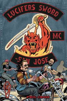 Find out what happens when Lucifer's Sword Motorcycle Club goes head to head with a badass rival club in this graphic novel from a lifelong motorcycle club member. Meet Lucifer's Sword Motorcycle Club