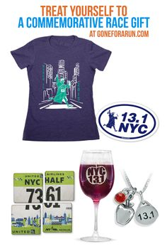 Never forget your races with our commemorative tees from GoneForaRun.com