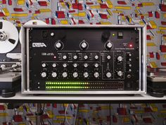 Original factory spec Urei 1620.  Produced throughout the 80s & early 90s as a clone of the earlier Bozak CMA10-2DL.  Also with LED VU meter display & Gary Stewart Audio isolator unit.