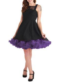 Va Va Voluminous Short Petticoat in Purple | Mod Retro Vintage Underwear | ModCloth.com