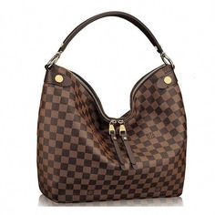 716bc568964d Authentic Louis Vuitton Damier Duomo Hobo Shoulder Handbag   Louisvuittonhandbags Louis Vuitton Damier