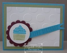 Stampin Up Peace, Love and Cupcakes stamp set