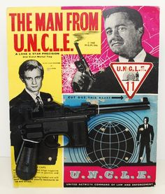 man from uncle action figure | James Bond Era 1968 Man from UNCLE Illya Gun Lone Star