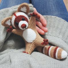 Check this FREE crochet raccoon pattern