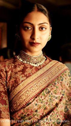 Sabyasachi. details. For more Indian chic http://www.pinterest.com/tinselandlace/
