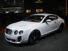 My dream car................Bentley Baby!!!