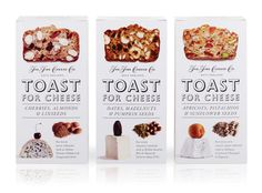 Toast For Cheese on Packaging of the World - Creative Package Design Gallery