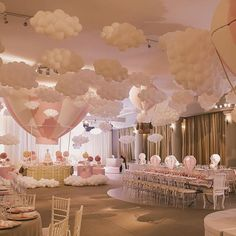 56 Amazing balloon decor ideas for all celebrations Toys, Kids & Baby … – Baby Shower Party Deco Baby Shower, Baby Shower Balloons, Girl Shower, Shower Party, Baby Shower Parties, Baby Shower Themes, Cloud Baby Shower Theme, Shower Ideas, Baby Showers