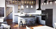 Latest Collection Of Ikea Kitchen Units With Amazing Image