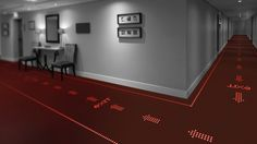 LED carpets, whatever next? Philips has created a carpet that can turn floors into dynamic signage!