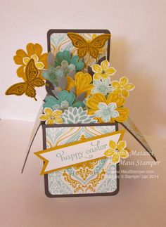 Maui Stamper RemARKably EggStra Blog Tour Card in a Box