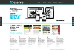We revamped our website with new responsive design. It is superb to check in mobile devices, ipad, iphone etc. Here is URL for you http://www.udeserve.in/