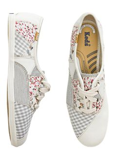 Keds Champion Patchwork Shoe: Back to School Sneakers: Style: teenvogue.com