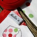 Dotty Cupcake Bunting by Mella's Makings