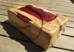 Andy-Style Box #3 Wooden Art Box, Wooden Box Designs, Small Wood Box, Wooden Jewelry Boxes, Small Boxes, Wood Boxes, Woodworking Box, Woodworking Projects Diy, Cnc Wood Carving