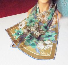 1960s Vera Silk and Rayon