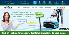 Rotowash has proudly lead the market in cleaning technology for over 40 years. Thousands of happy customers from the health care sector, major industry, government bodies, contract cleaning organizations and small businesses. From the smallest kitchen to the largest shopping precinct and everything in-between Rotowash floor washer machines can effectively clean any type of flooring.