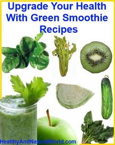 Upgrade Your Health With Green Smoothie Recipes