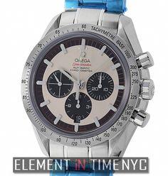 #Omega #Speedmaster 42mm Speedmaster Legend Schumacher  Sixth Title Limited Edition Ref#: 3559.32.00 ($4,295.00 USD)