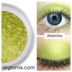 Absinthe Eyeshadow ($12) ❤ liked on Polyvore featuring beauty products, makeup, eye makeup and eyeshadow