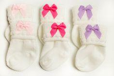 NEWBORN SOCK SET newborn socks baby socks by InfanteenieBeenie