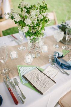 green wedding invitations http://www.weddingchicks.com/2013/10/09/romantic-ranch-wedding/