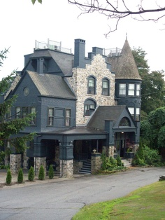 Norumbega Castle in Camden, Maine.... I love it up there
