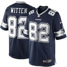 e408fa6ae2d1df Nike Jason Witten  82 Dallas Cowboys Team Colored Limited Jersey
