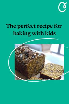 Get the kids in the kitchen this weekend with simple bakes they can help you make. Food stylist, cookbook author and mother, Georgina Hayden, shows you how to get the kids baking, without the dreaded sugar rush. Loaf Recipes, Baking Recipes, Homemade Pumpkin Puree, Little Chef, Baking With Kids, Sugar Rush, Perfect Food, Author, Bread