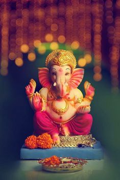 ganesh chaturthi decoration - Ganesh Chaturthi Decoration 2019 - In Ganesha Chaturthi, we do enhancement of indoor and in addition outside embellishment. Ganesh Chaturthi Decoration, Happy Ganesh Chaturthi Images, Shri Ganesh Images, Ganesha Pictures, Krishna Images, Lord Murugan Wallpapers, Lord Krishna Wallpapers, Arte Ganesha, Ganesh Idol