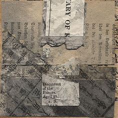 Janet Jones Collage, Mixed Media and Book Art | Murmurs