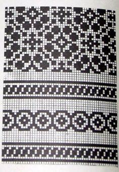 Lapas - Rokdarbu grāmatas un dažādas shēmas - Galerija - Cimdu raksti - draugiem.lv:
