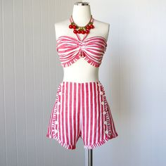 vintage 1940's swimsuit iconic styled for the stars of by traven7. $410.00, via Etsy.