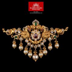 Gold Jewelry Kemp Pota Highlight CZ Pachi Bajubandh Cum Choker - Bajubandh L : inches; W : inches Vanki Designs Jewellery, Gold Jewellery Design, Gold Jewelry, India Jewelry, Jhumka Designs, Choker Jewelry, Gold Designs, Choker Necklaces, Chokers