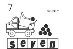 Mike Mulligan--Lots of dump truck counting activities
