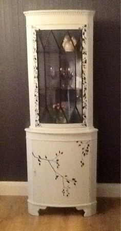 Funky Hand Painted Furniture | Furniture / Hand Painted And Funky Corner  Cabinet