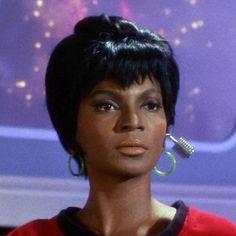 Star Trek- Uhura - Nichelle Nichols
