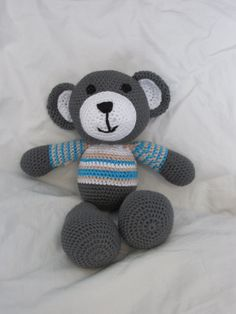 Cute Grey Teddy