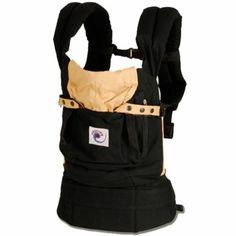 ERGO Baby Carrier in Black / Camel