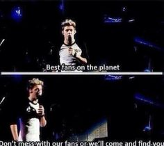 One of the many reasons why I love Niall so much. He's always so protective of us. ❤️
