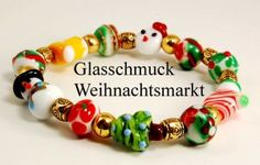 Glasschmuck-Weihnachtsmarkt  Christmas market glass jewellery at www.glas-schmuck.at