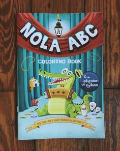 In partnership with our friends at Hop & Jaunt, we bring you the basic building blocks of New Orleans. There's a whole world of alphabet adventures in NOLA. A great gift for kids. Do you know your ABC