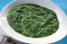 Épinards frais à la crème au Thermomix - Cookomix