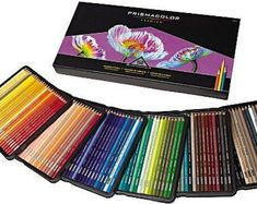 150 Prismacolor pencils - A premier set of colored pencils for coloring, drawing, illustrations, arts and crafts