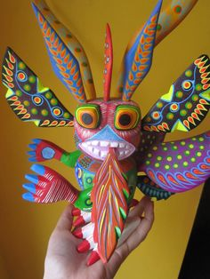 oaxacan wood carving-I have a smaller version of this one which is supposed to ward off evil spirits.