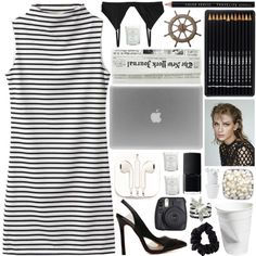 i've got a thick skin and an elastic heart ♕ by dressed-like-a-daydream on Polyvore featuring мода, Monki, American Apparel, NARS Cosmetics, Tocca, Mark's Tokyo Edge, PhunkeeTree, TeamInternet, oohsponsorship and jems7daychallenge