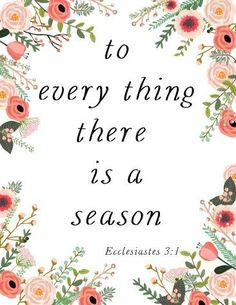I love this quote! Free Printable for your spring home decor.